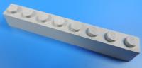 4211392 Grundbaustein 1x8  hellgrau 10 Stück LEGO®  Nr.