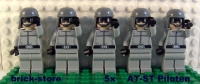 LEGO® STAR WARS Figuren 5x AT-ST Piloten