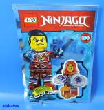 LEGO® Ninjago Figur 891610 Limited Edition / Clouse mit Wunderlampe / Polybag