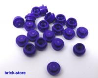 20 Stück LEGO®  rote 1x1 x0.33 runde Platten Rundsteine