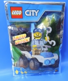 LEGO® City Limited Edition 951805 / Polizei Figur mit Quad / Polybag