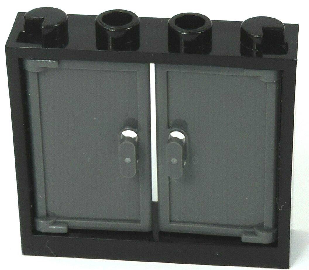 Schwarze Türen brick-store.de - lego® schwarze / 1x4x3 lok fenster / mit 2 türen