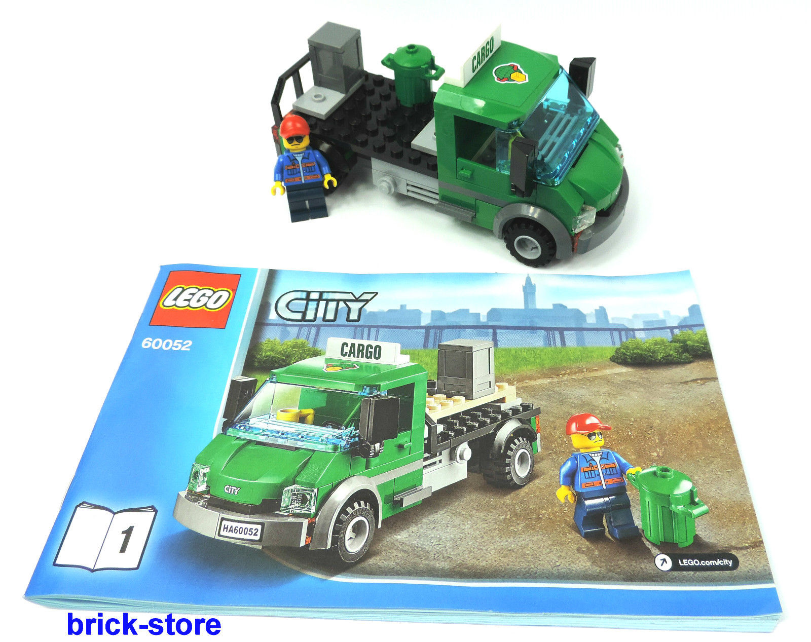 brick lego city eisenbahn 60052 carko lkw. Black Bedroom Furniture Sets. Home Design Ideas